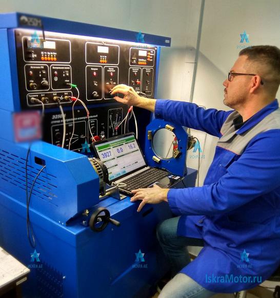 Лабораторные испытания генератора